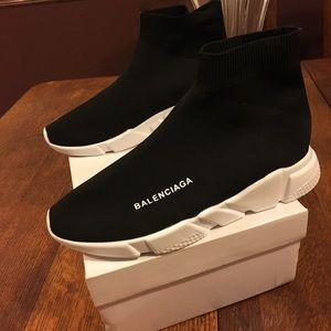 c9471b2b78f8 Balenciaga Shoes - Balenciaga Speed Signature Trainer Sock Sneaker